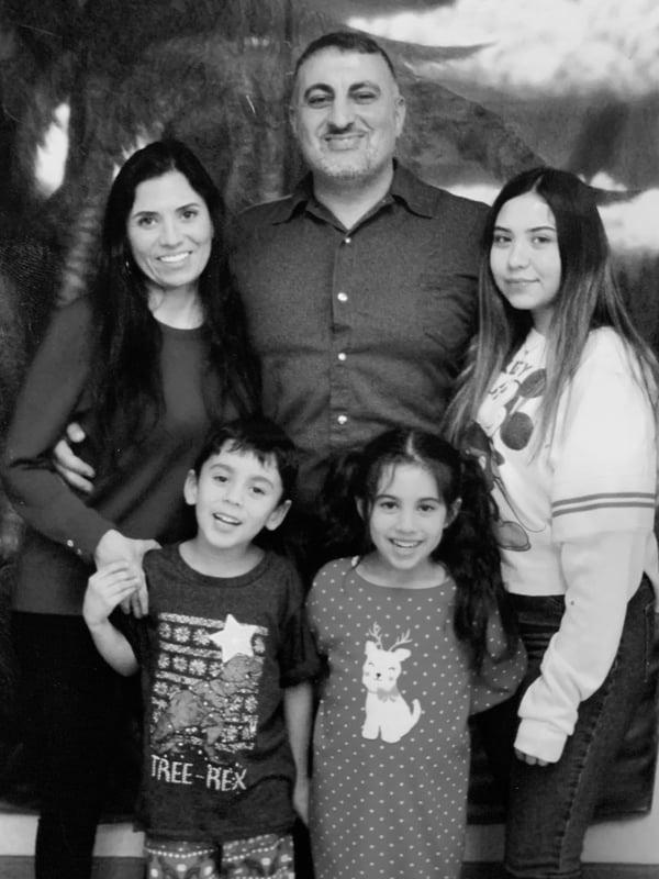 Rudi Gammo & Family